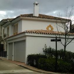 Pintores Fachada Chalet Madrid
