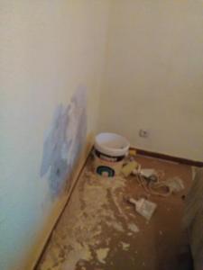 Arreglar desperfectos en paredes