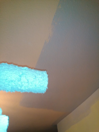 pintar techos y paredes